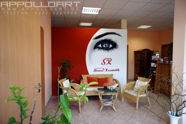 Airbrush an der Bürowand oder Geschäftswand oder Zimmerwand Strausberg in der Nähe von Hoppegarten