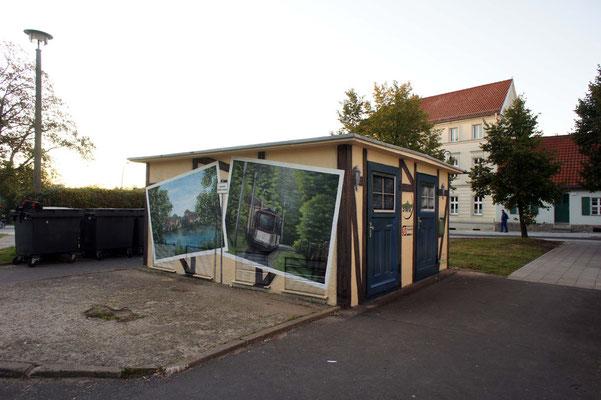 Graffiti Fassade- Trafo Graffiti Strausberg