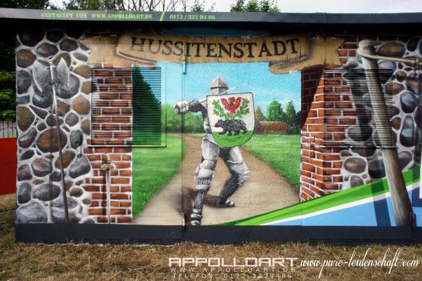 Stadtwerke Bernau bei Berlin gaben Auftrag für Stromkasten Graffiti
