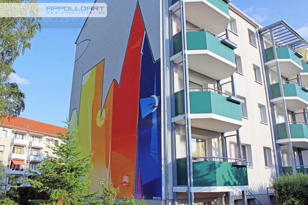 professionelle Profi Auftragsmalerei von Fassaden Künstler in 3d Bochum Berlin Eberswalde