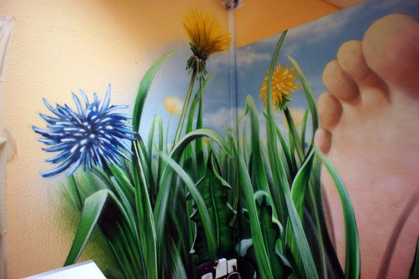 Innenraum Gestaltung Fussmassagen in Berlin und Brandenburg mit Hausbesuch