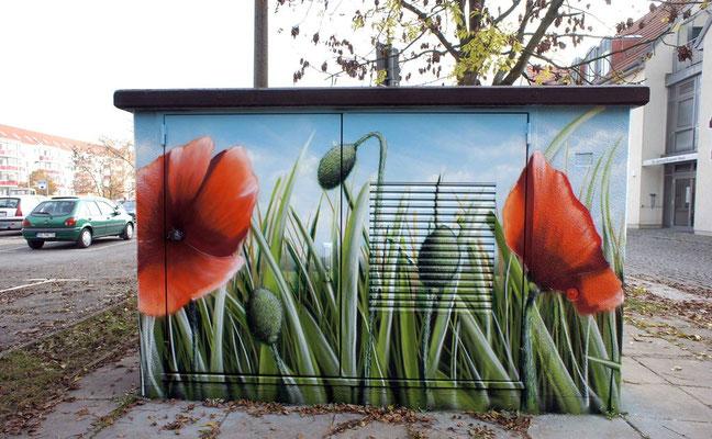 Fassadengestaltungsideen modern mit der Fassadenkunst und Graffiti