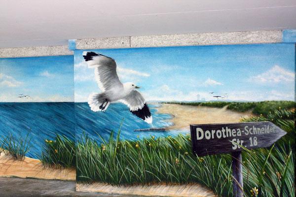 Graffitikunst auf Fassaden - Wände bemalen lassen- Ideengestalter Potsdam