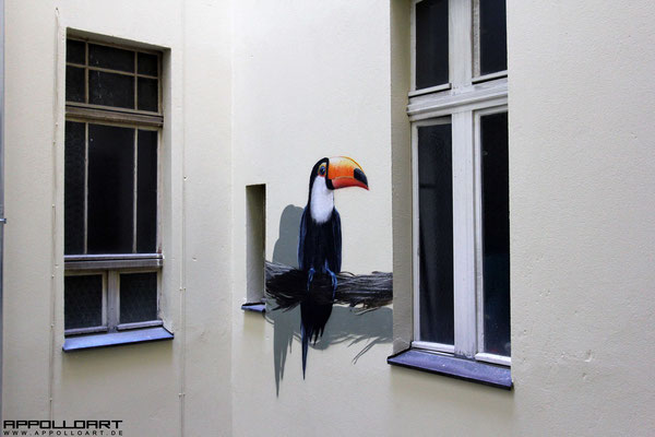 Fassadenmaler gesucht- Graffiti  auf der Wand München