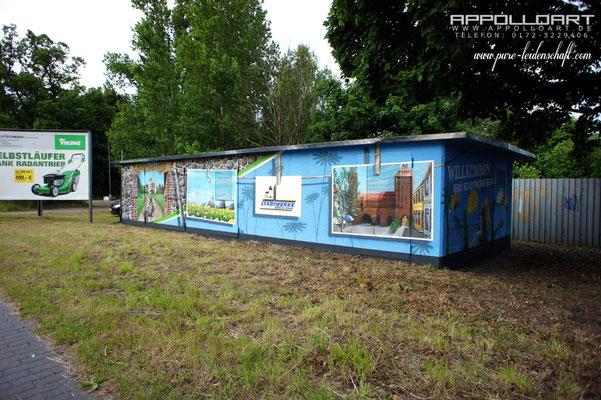 Fassadenkünstler Appolloart Kleinschmidt Graffitikünstler