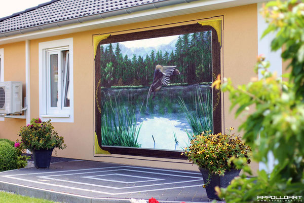 Fassadengestaltung Dortmund vom Graffitikünstler