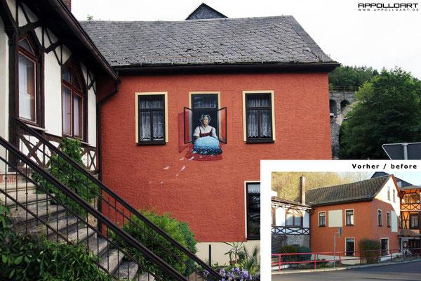Fassadengestaltung verschönerung berlin Brandneburg Mitte
