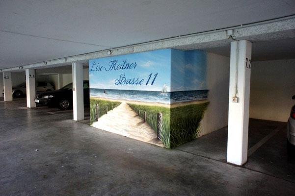 Unterführung Tunnel bemalen lassen - Graffiti Kunst Potsdam