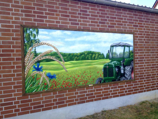 Wandbilder mit Wandmalerei Strausberg