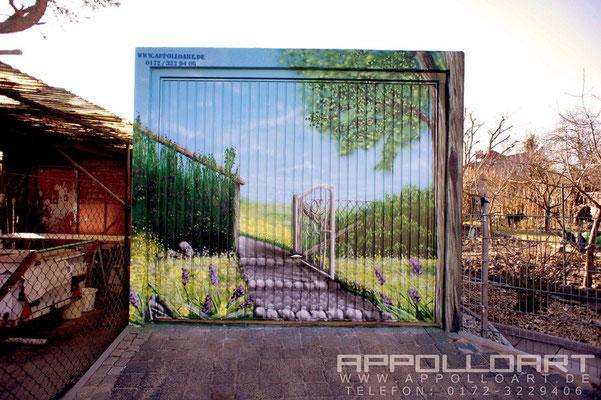 Trafo Haus Bemalen Bemalung -Gestaltung Graffiti Münster Bad Sarrow Berlin