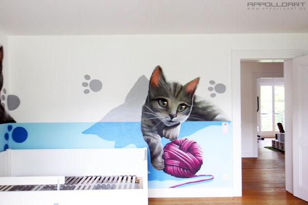 proffessionelle Wandbilder gemalt vom Auftragskünstler