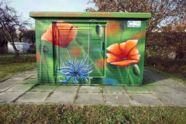 Fassadengestaltung Beispiele Graffiti