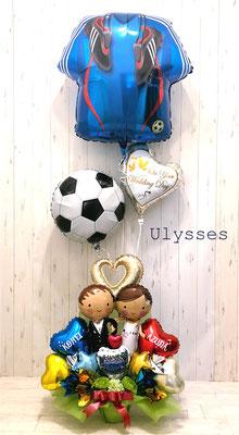 バルーンアート バルーンショップユリシス ウェディングバルーン 受付装飾 結婚祝い 名前入りバルーン バルーン電報 つくば市 サッカー