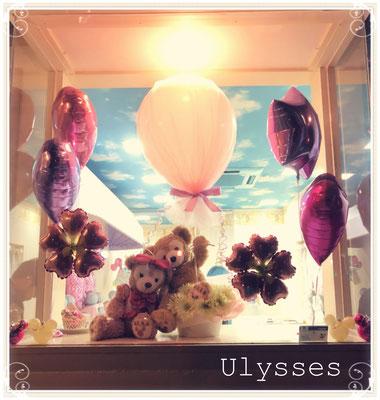 茨城県つくば市 バルーンショップユリシス バルーンアート バルーンギフト アレンジメント 花束 ハロウィン デコレーション