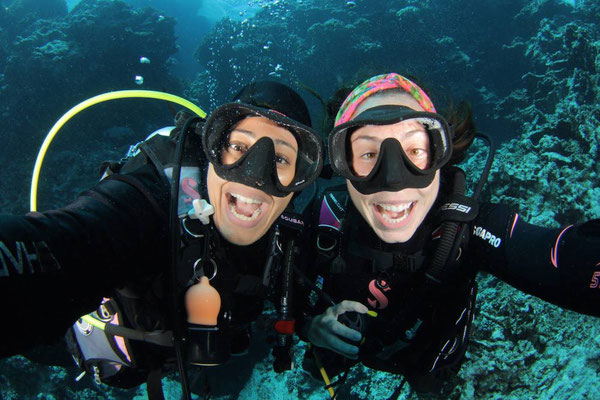 Girls that Scuba take on Egypt