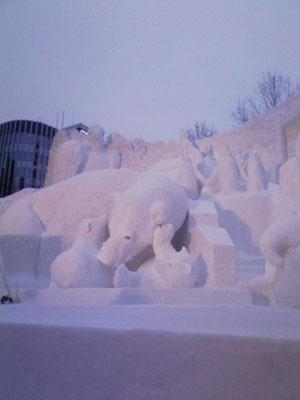 札幌雪祭り(本文と関係なし)