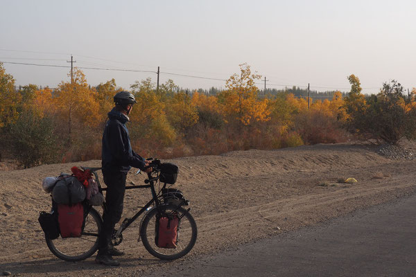 Auch in der Wüste beginnt der Herbst