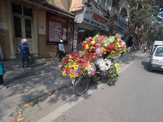 Das Blumenfahrrad