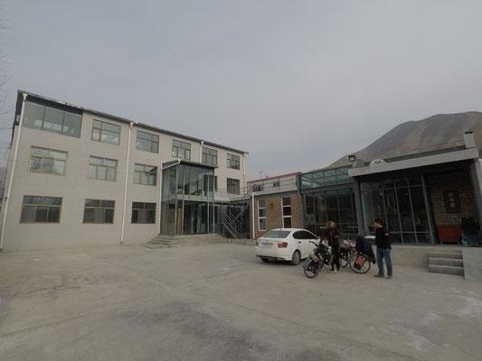 Unser Hostel in Labrang - leider ohne Heizung