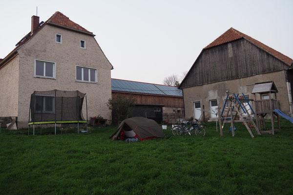 Reiterhof als Zeltplatz