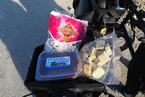 Iranische Süßigkeiten (über Geschmack lässt sich bekanntlich ja nicht streiten)