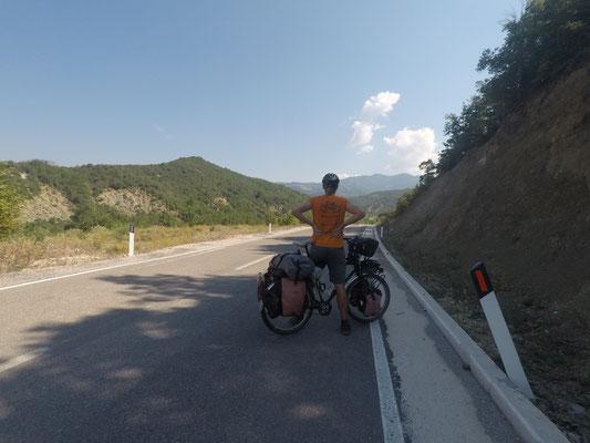 Heiß - auch im Schatten! - Radreise Alles in 12 Taschen