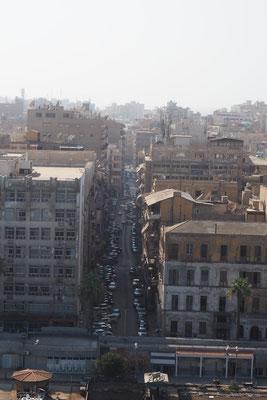 Ein Blick in die Straßen von oben