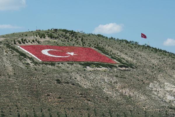 Einfahrt nach Ankara
