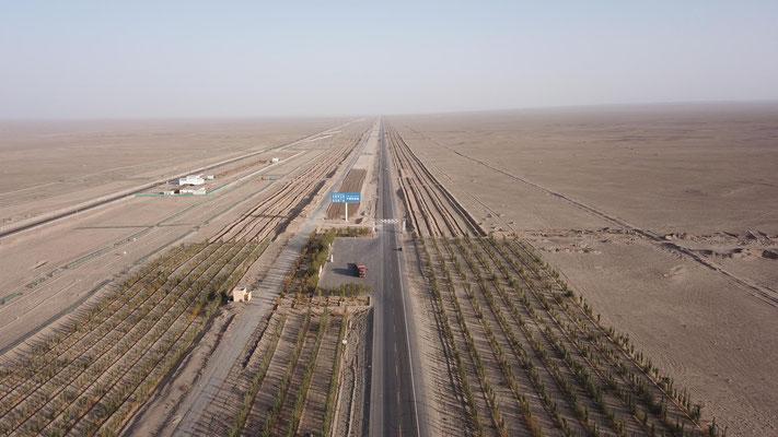 Die Wüste beginnt