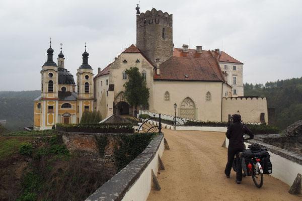 Burg von Vranov nad Dyji