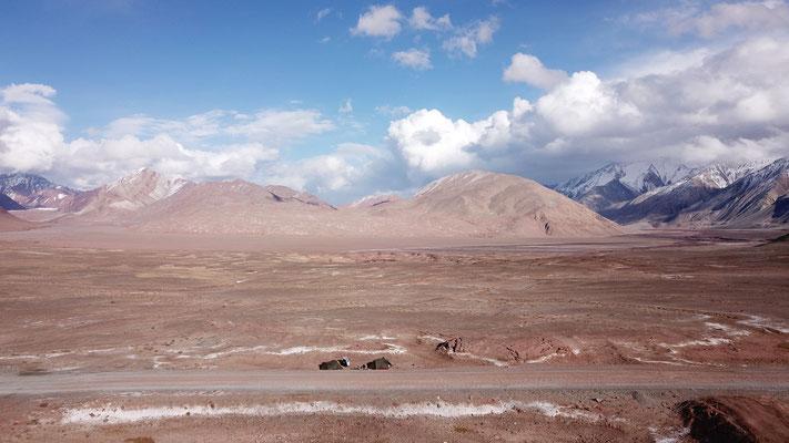 Letzter Zeltplatz vor Kirgisitan