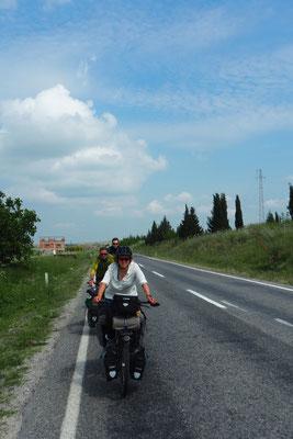 Radeln mit Marc und Peter