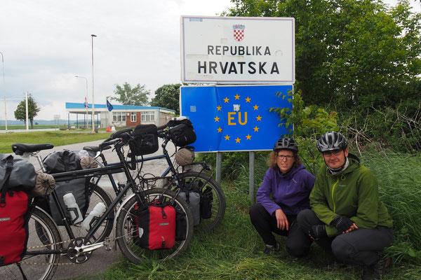 Endlich in Kroatien