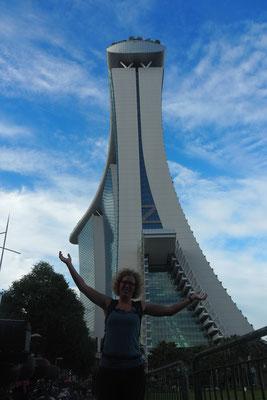 Marina Bay Hotel - Alles in 12 Taschen - Cycletouring/Radreise