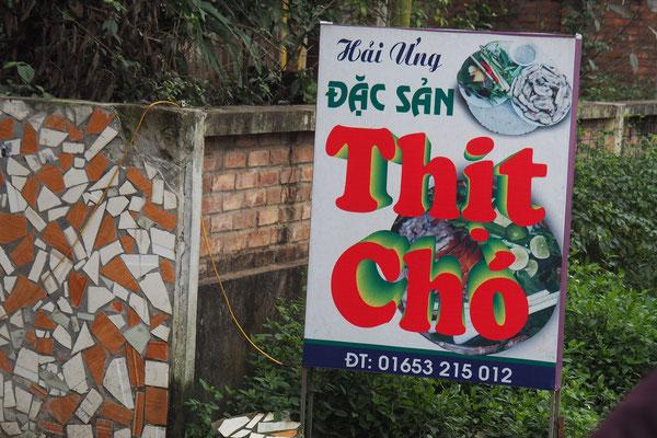 Thit Cho - heißt soviel wie Fleisch vom Hund