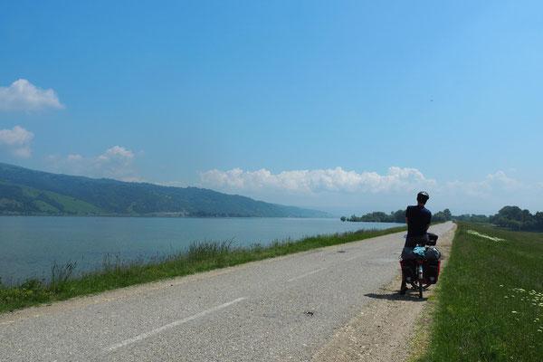 Auf dem Weg zum Donaudurchbruch