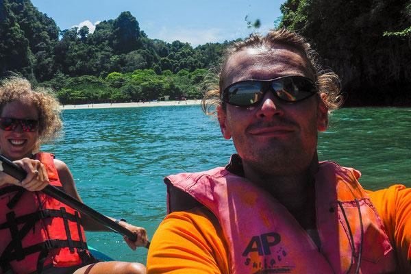 Schwimmwesten auch im Kanu - Safety first!