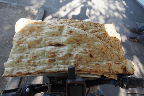 Typisches iranisches Brot