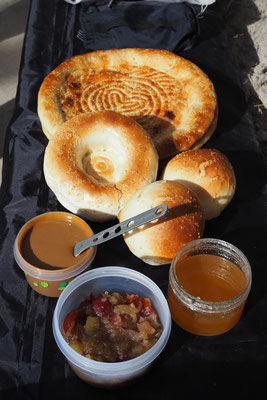 """Zweites Frühstück auf unserem neuen """"Cookprint"""""""