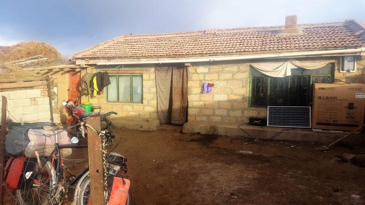 Haus der Yak - Hirten - Familie