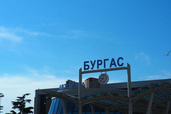 Willkommen in Burgas