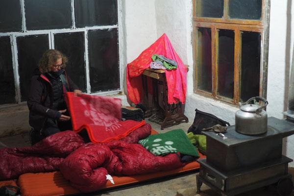 Unser heutiges Nachtlager