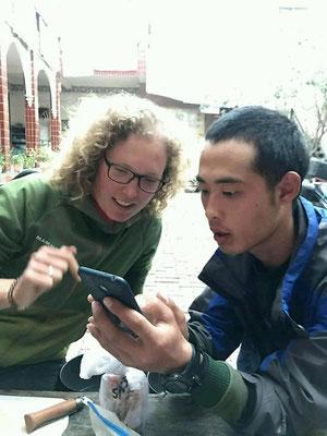 Dank Übersetzungs-Apps können wir uns sogar mit den Chinesen halbwegs verständigen