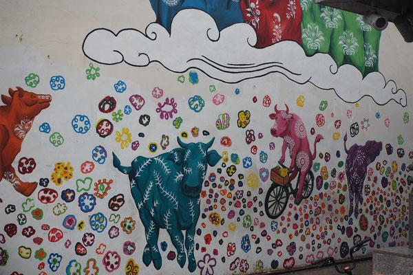 im indischen Viertel Singapurs - Alles in 12 Taschen - Cycletouring/Radreise