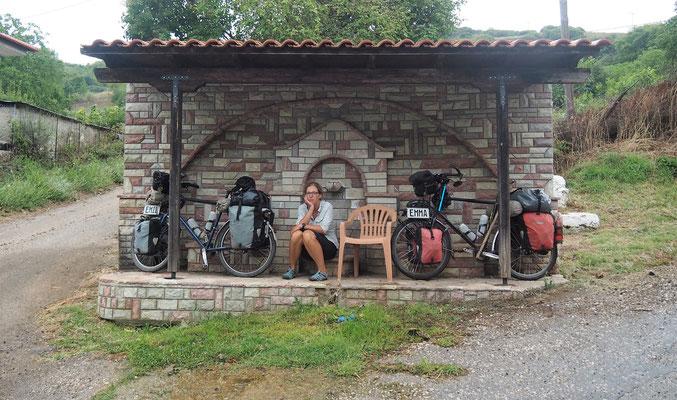 Warten auf Sonnenschein - Radreise - Alles in 12 Taschen