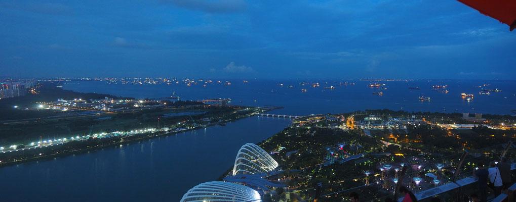 Der Hafen von Singapur - Alles in 12 Taschen - Cycletouring/Radreise