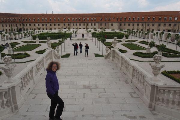 ... und der Burggarten