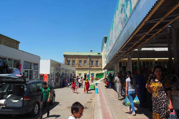 Bazar in Mary