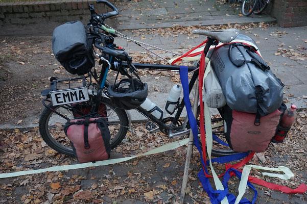 Emma wieder in der Röhrigatraße