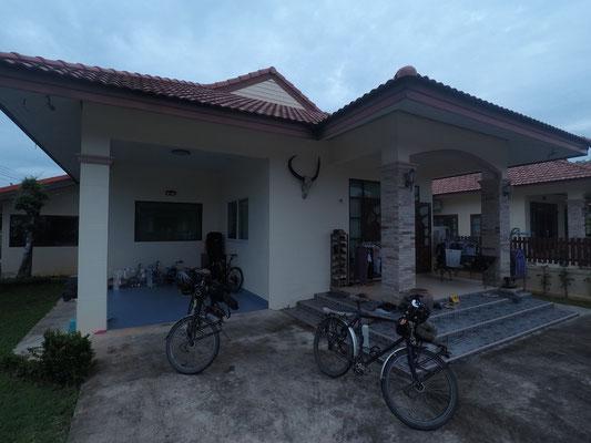 Daheim bei unserem Host - Radreise - Cycletouring - Thailand